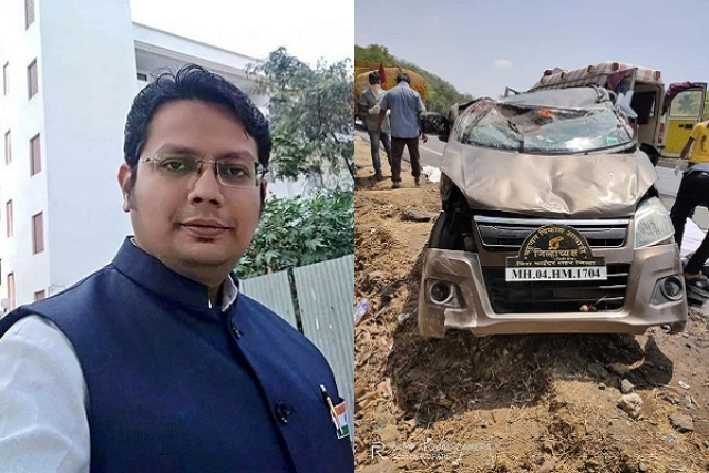 Advocate Part Of Legal Team Representing Sadhus In Palghar Lynching Case Dies In Car Accident