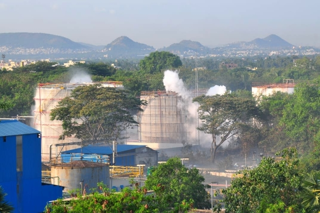 Vizag: Indian Navy Teams Rush In To Help Villagers Affected By Chemical Gas Leak In LG Polymer Plant