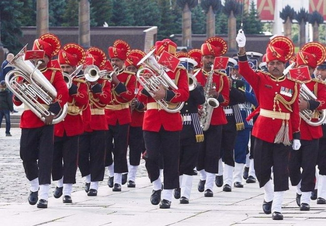 A Tune Celebrated By The Indian Armed Forces Echoed In Shillong's Tribute To Covid-19 Warriors
