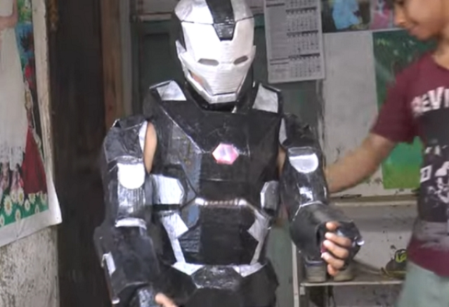 Manipur's Own Tony Stark: 20-Year-Old Youth Creates Iron Man Replica Out Of Electronic Waste