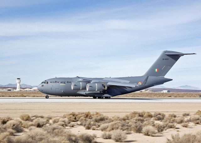 A C-17 of the Indian Air Force (U.S. Air Force/Jet Fabara)