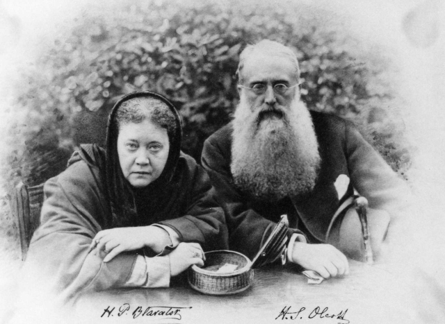Helena Blavatsky and Olcott : Pioneers of Theosophy movement