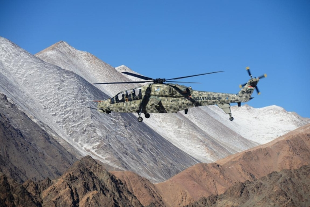 After Apache, Indigenous Light Combat Helicopter Deployed With IAF In Ladakh: Report