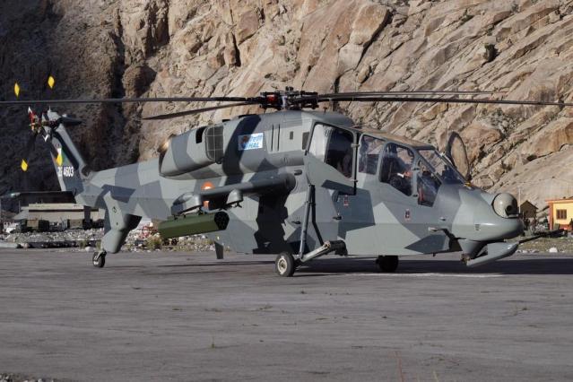 Light Combat Helicopter Ladakh
