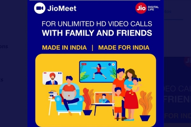 Reliance Jio Launches Free Video Conferencing App 'JioMeet' To Take On Zoom; Can Support Up To 100 Participants