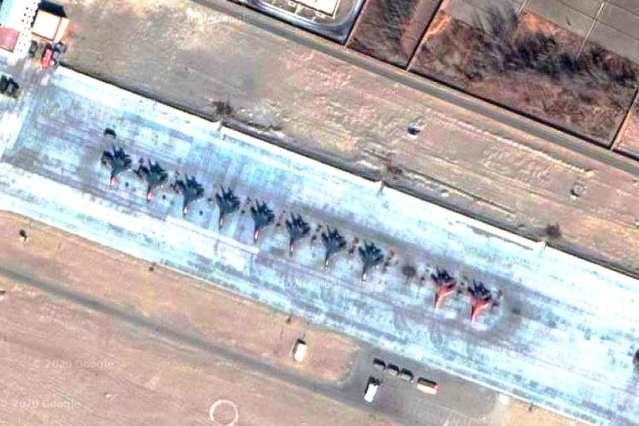 Satellite Pictures Show China Is Increasing Deployment Of Fighters, Improving Infra At Its Air Bases Near Ladakh