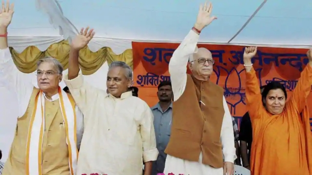 BJP Stalwarts LK Advani, MM Joshi To Attend Bhoomi Pujan Ceremony Via Video Conferencing