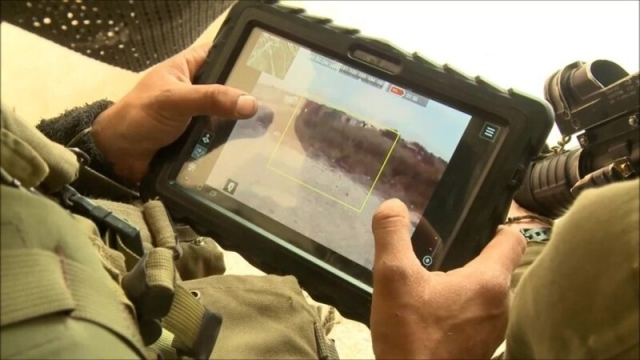 FIREFLY operator's tablet (Rafael Advanced Defense Systems)