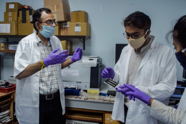 IIT Kharagpur Researchers Develop Portable Rapid Diagnostic Device To Detect Covid-19 In One Hour For Rs 400