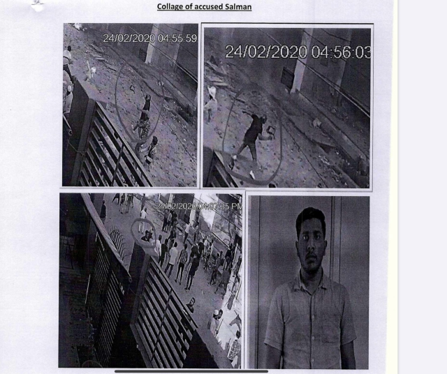 Images of Salman, taken from the chargesheet