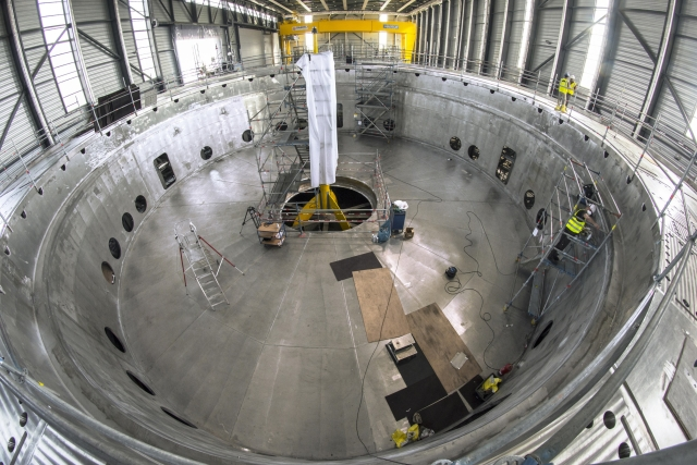 Cryostat base section 1 (Source: ITER-India)
