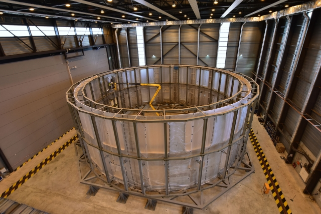 Cryostat lower cylinder (Source: ITER-India)