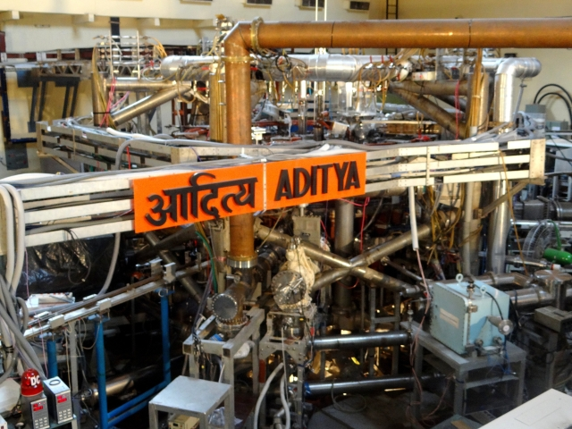 ADITYA, first indigenously designed and fabricated tokamak in India (Source: ITER)
