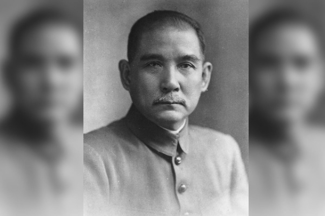 Dr Sun Yat-sen, founder of the Kuomintang. (Wikipedia)