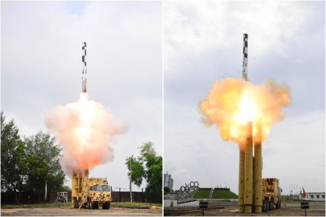 Watch: Video Of Extended-Range BrahMos Missile Test-Fired With An Indigenous Booster On 30 September