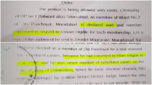 Excerpts from the court order