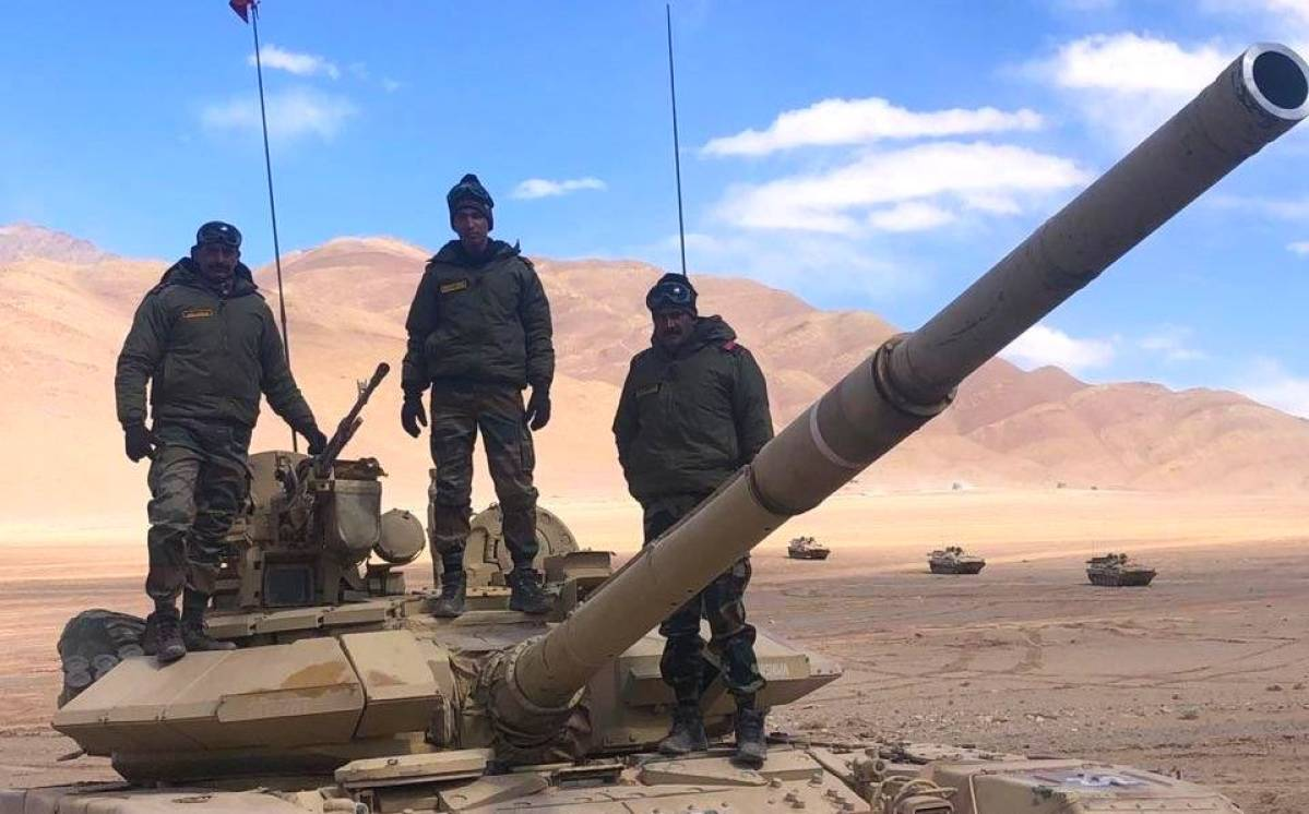 Indian Army Deployed T-72 Tanks On Some Heights It Occupied South Of Pangong Tso In August: Report