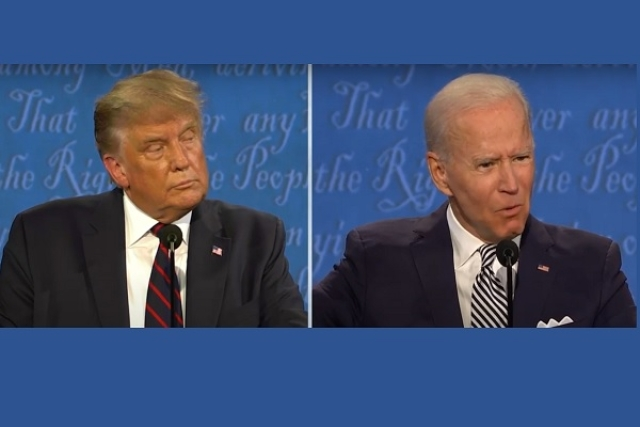 Trump, Biden Attack Each Other At First US Presidential Debate Ahead Of 3 November Polls