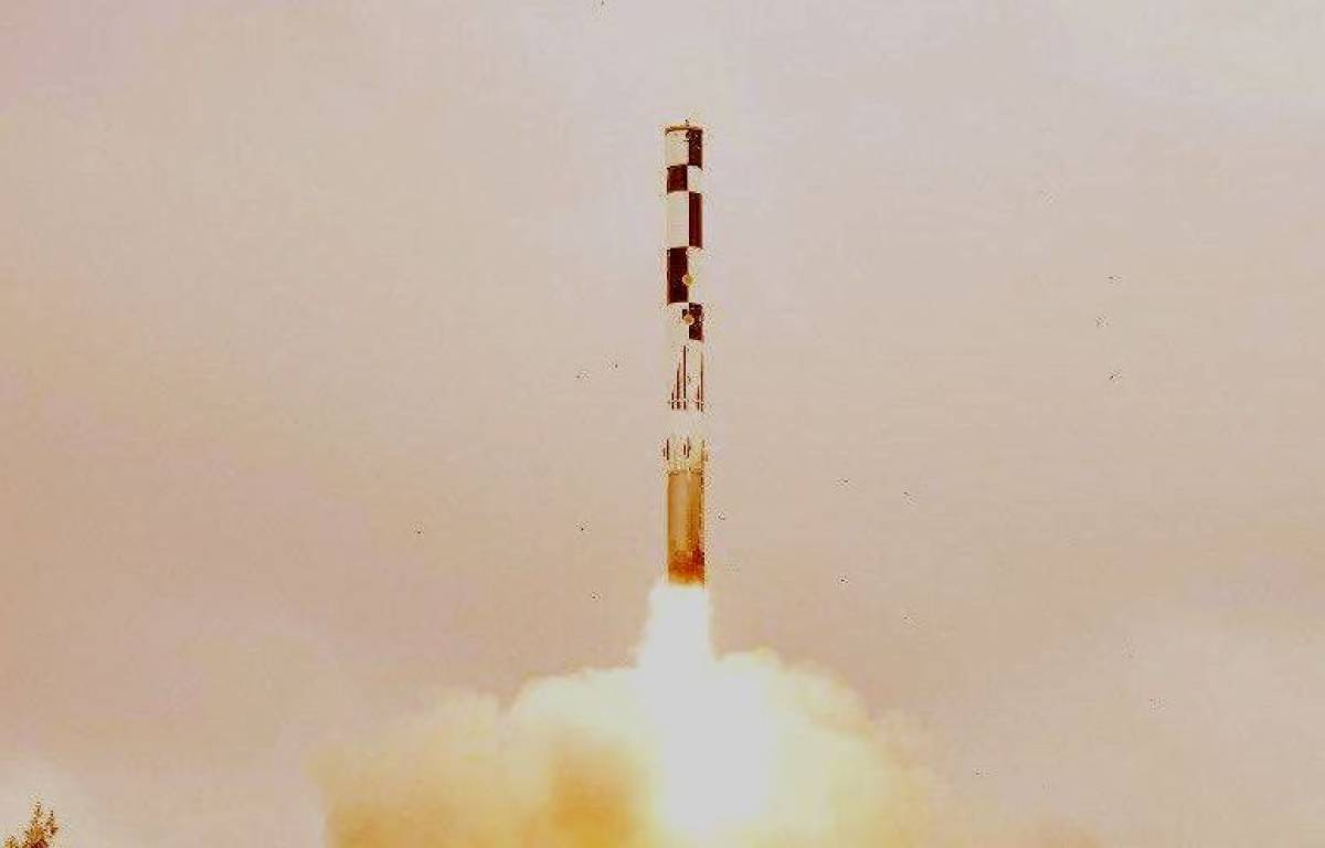 India's Missile test