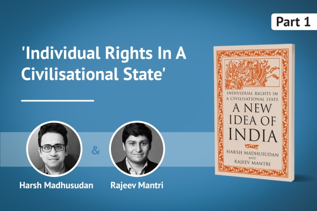A New Idea of India: Roshan Cariappa In Conversation With Harsh Madhusudan And Rajeev Mantri