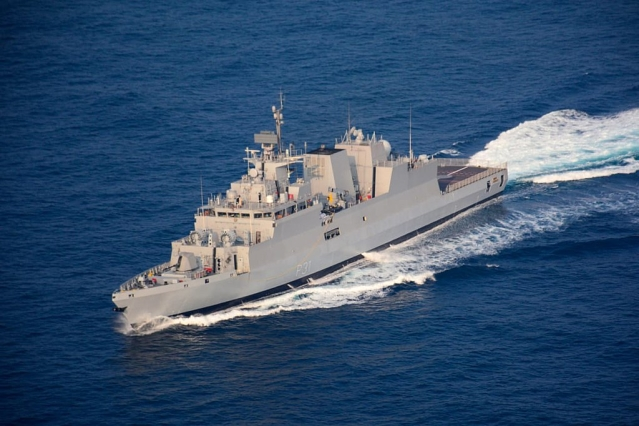 Indian Navy To Induct New Anti-Submarine Warship INS Kavaratti Amid Tensions With China