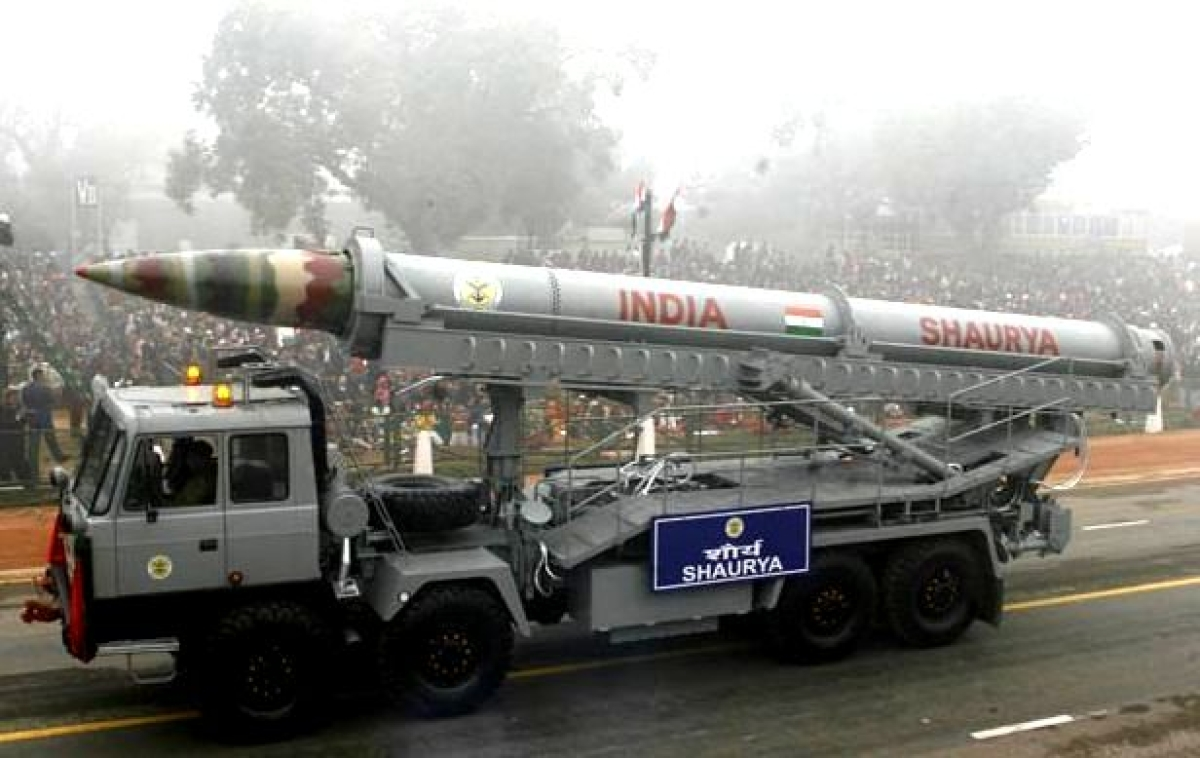 India To Conduct The First-Ever User-Trial Of Hypersonic Nuclear-Capable Shaurya Missile Today