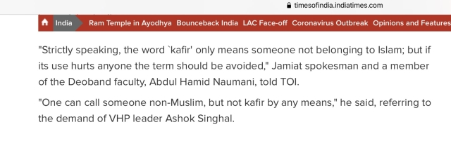 Bollywood Must Stop The Usage Of  'Kafir' And Make Amends For Past Wrongs