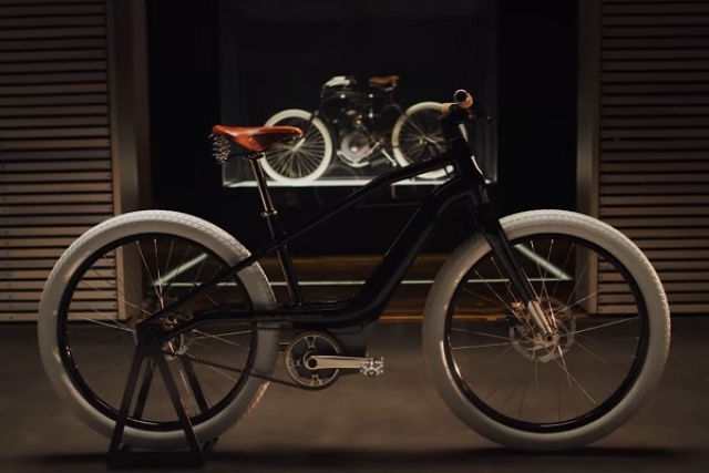 Harley-Davidson Unveils Its First Electric Bicycle 'Serial 1' Inspired By Brand's Very First Motorcycle From 1903