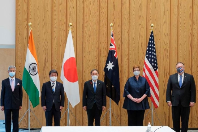 QUAD May Not Resolve All Of India's Security Concerns, But It Is Headed In The Right Direction
