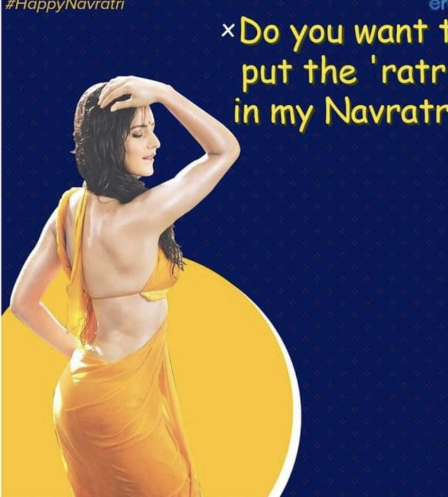Calls Grow To Boycott Eros Now Over Its Obscene Posters Denigrating Navratri As Part Of Ad Campaign
