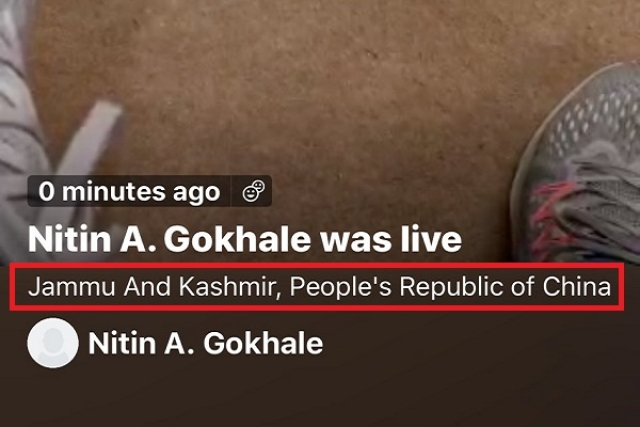 Twitter Shows J&K As Part Of China After Users Enter Leh As Location In Live Broadcast