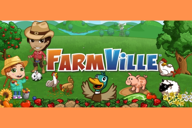 The original FarmVille game on Facebook was based on Flash