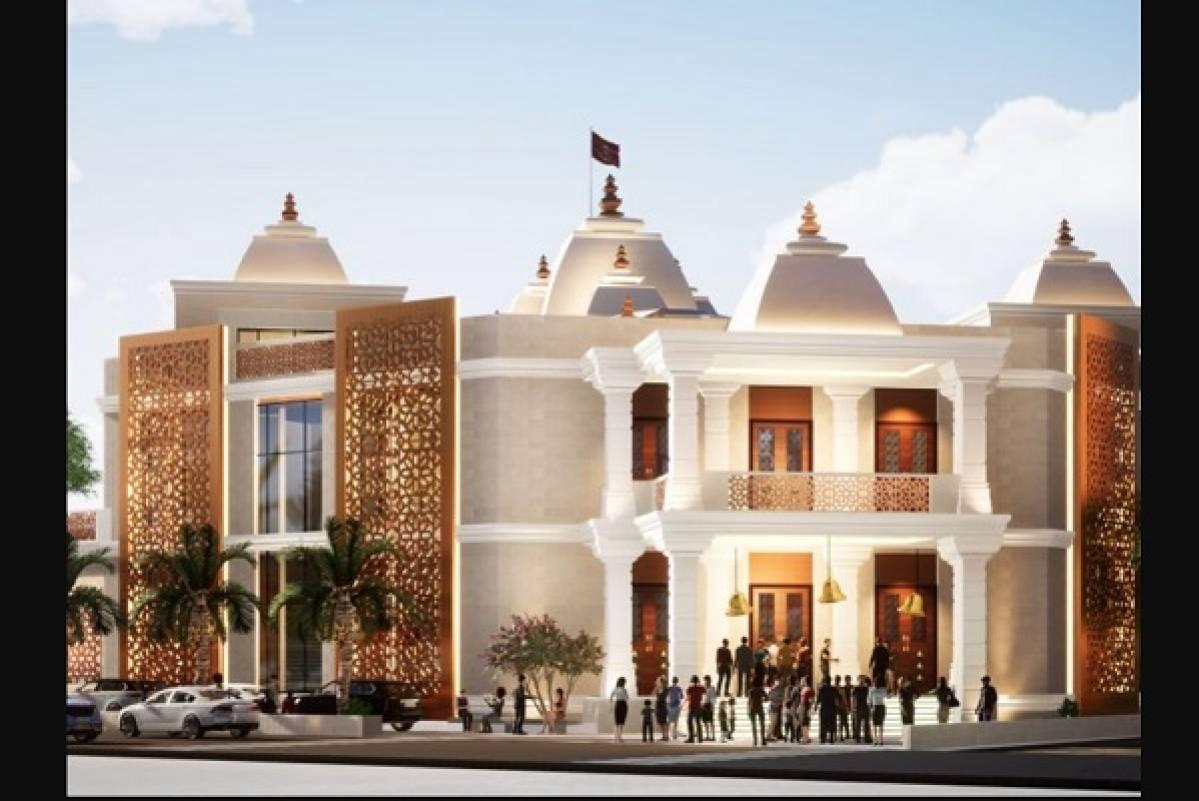 Dubai: Majestic Hindu Temple To Open Doors By Diwali 2022
