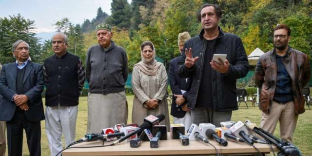 Blow To Abdullah-Mufti: Sajad Lone-led J&K People's Conference Walks Out Of Gupkar Alliance