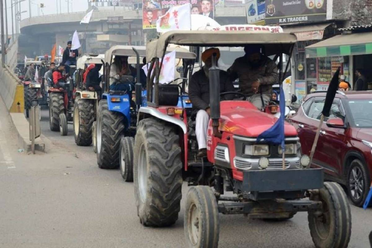 300 Pakistani Twitter Handles; 12,000 Tractors; Three Routes: Details Of Farmers' Tractor Rally In Delhi