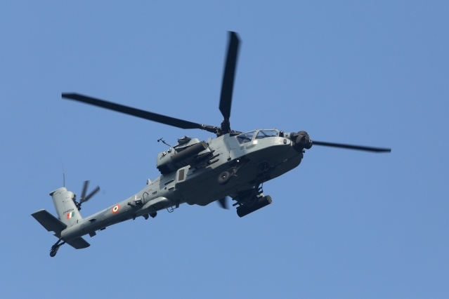 IAF's Apache Attack Helicopter Seen Near Border With China In Sikkim  Even As  Disengagement Continues In Ladakh