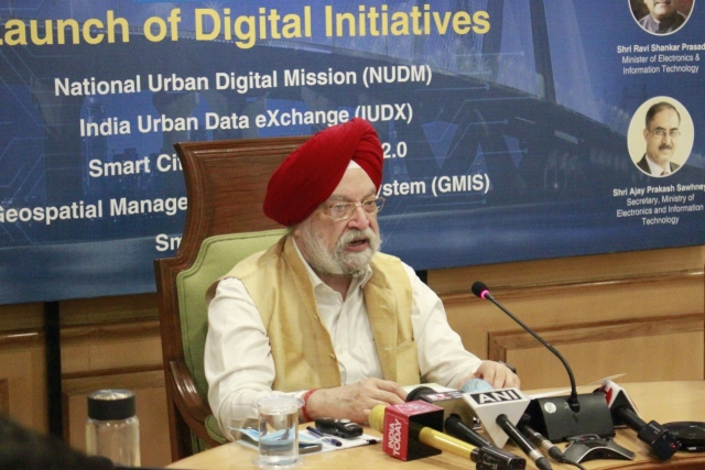 Govt Launches NUDM, Several Other Digital Initiatives To Transform Urban Governance