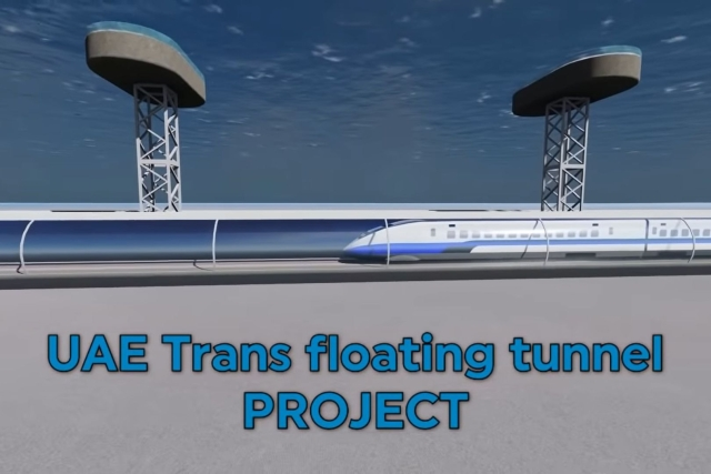 UAE Explores An Ultra-Futuristic Underwater Rail Tunnel Between Mumbai And Fujairah