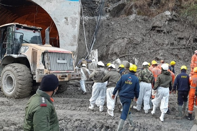 Uttarakhand Flash Floods Caused By Water Released From Underground Glacial Lake At Northern Nanda Devi: IISc Team