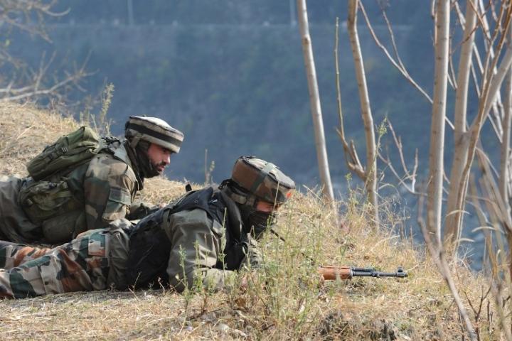 Watch: Pakistani Troops Rush Back After Detection  By Indian Security Forces Near Poonch River, Leave Camera Behind
