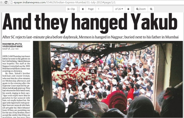 Defence Of Yakub And Contempt For Social Media