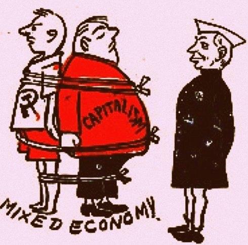 nehru u0026 39 s mixed economy model