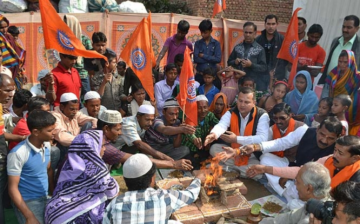 Those protesting Agra conversions betray Hinduphobia