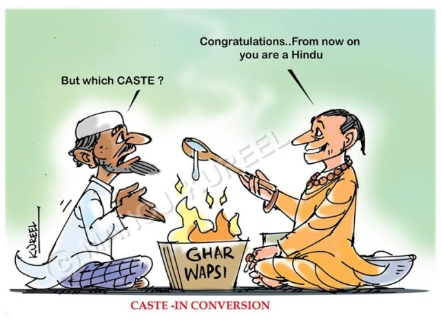 Caste is Hardly an Impediment for 'Homecoming Hindus'