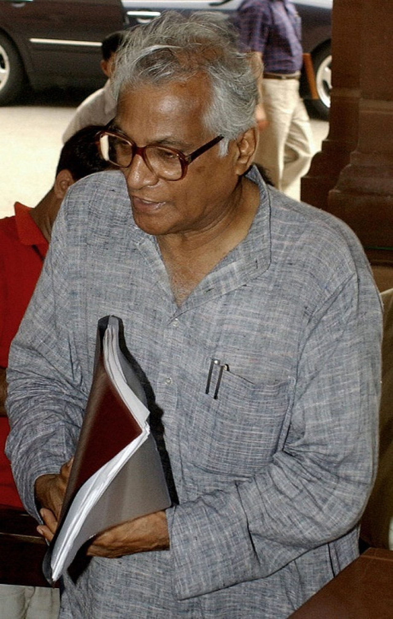George Fernandes. Photo Credit- RAVEENDRAN/AFP/Getty Images