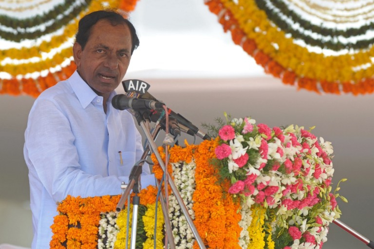 Telangana Chief Minister K Chandrashekar Rao, better known as KCR
