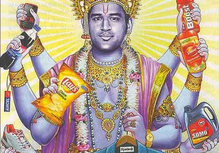 Spare Us The Outrage: Dhoni As Vishnu Does Not Hurt Hindu Sentiment