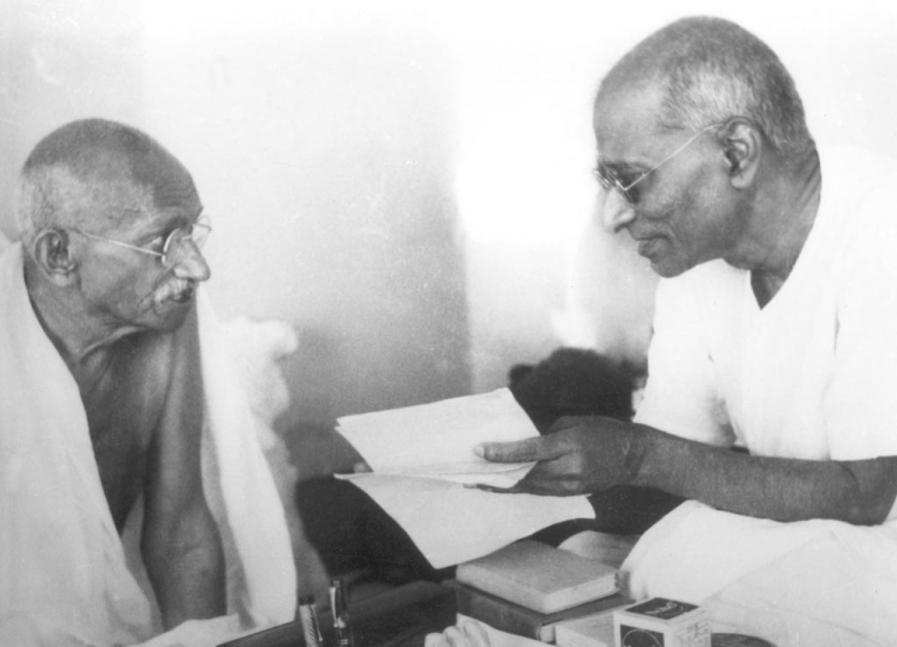Image result for rajaji and gandhi