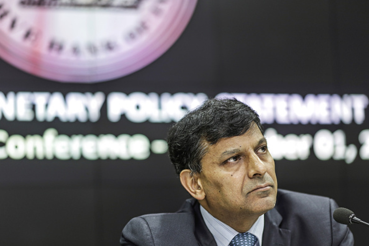 Raghuram Rajan at Monetary Policy Conference/Getty Images