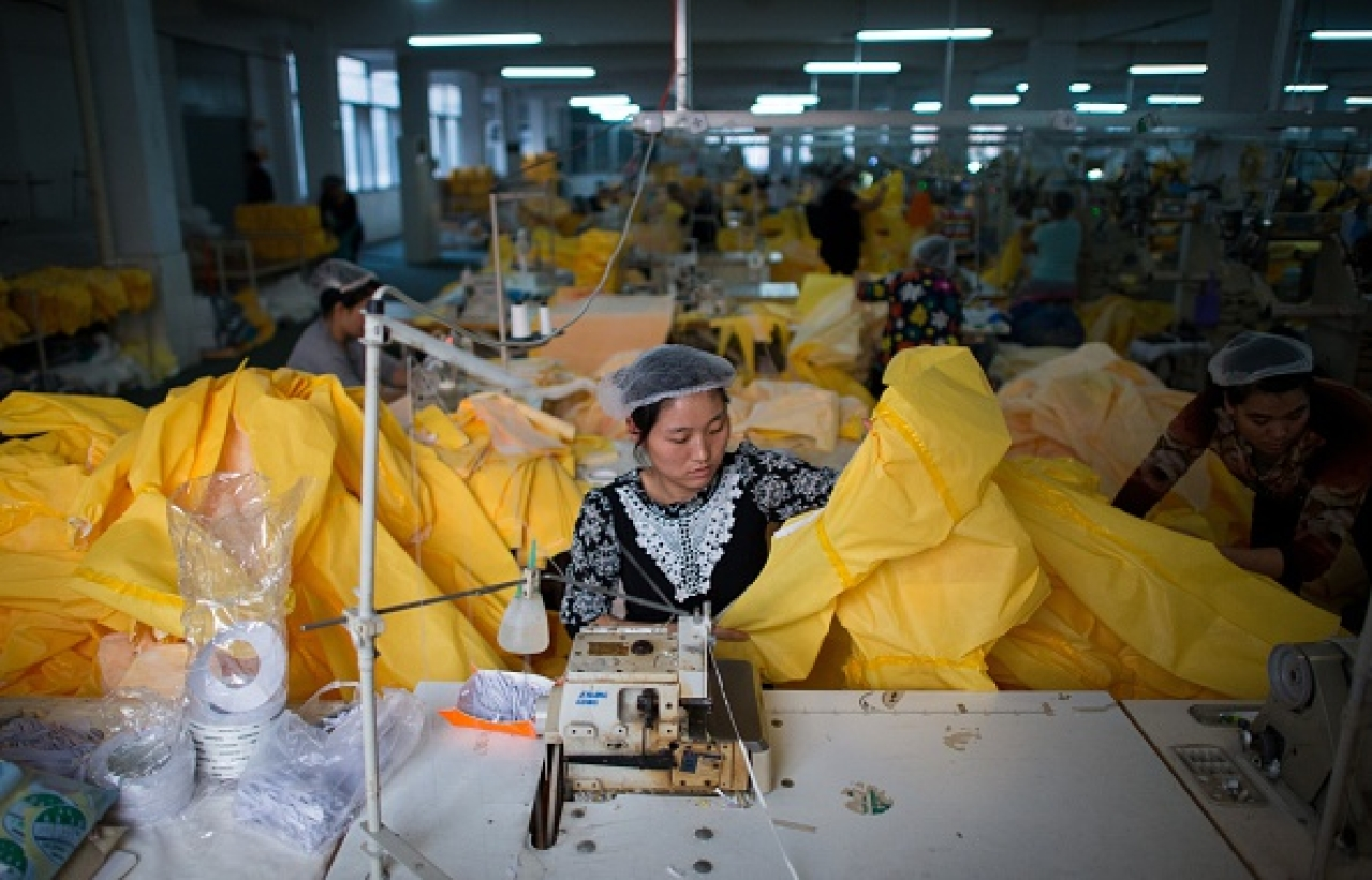 from a manufacturing factory in China (JOHANNES EISELE/AFP/Getty Images))